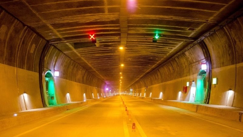 India's first and Asia's longest bi-directional Highway Tunnel, Chenani-Nashri, Jammu & Kashmir