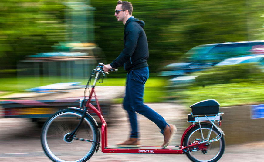 World's first walking Bike – Crazy Innovation you must know all about it | FoxBuff