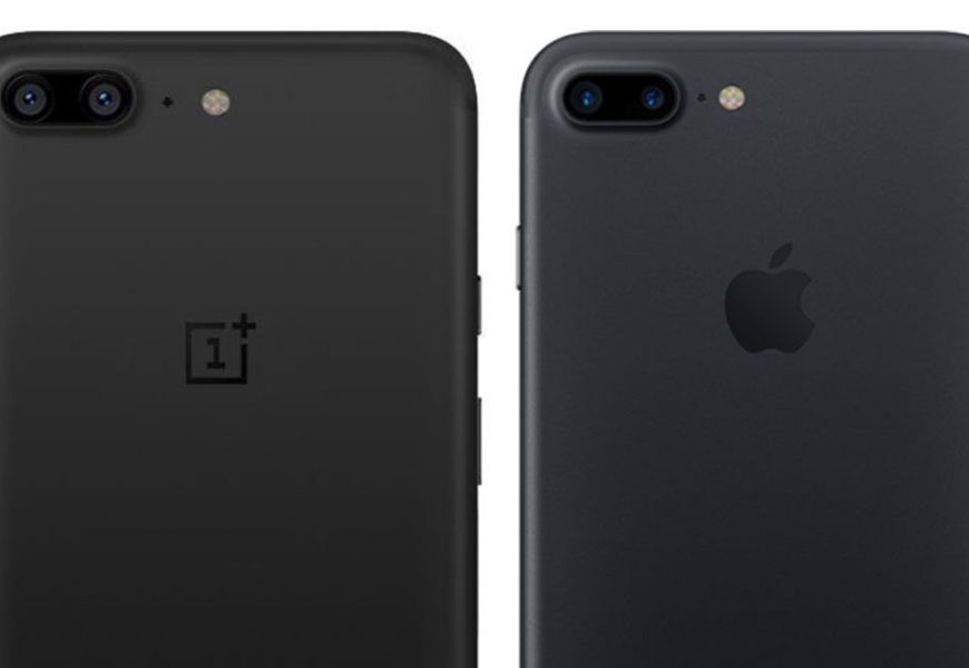 Oneplus5 Looks Exactly Like an apple Iphone7plus