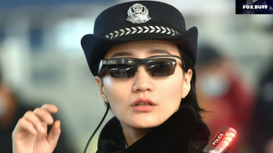Chinese Police with Smart glasses by LLVision