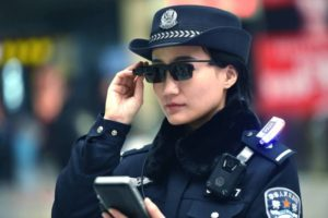 smart glasses chinese police