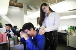 Beautiful Women Are Being Hired To Comfort Codding Programmers In china