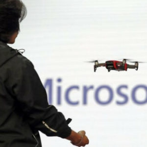 Microsoft and DJI Team up to bring Advanced drones to the Industry
